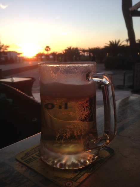 Canary-made beer to celebrate three long days on the Transgrancanaria course. I did this trip twice (in January and in February).